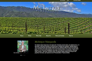 Vin65 Portfolio - McIntyre Vineyards