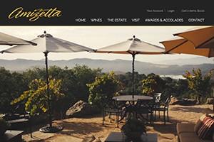 Vin65 Portfolio - Amizetta Estate Winery