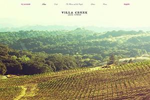 Vin65 Portfolio - Villa Creek Cellars