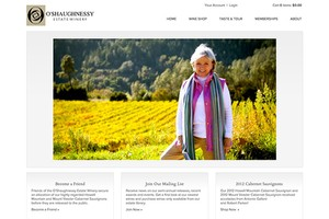 Vin65 Portfolio - O'Shaughnessy Estate Winery