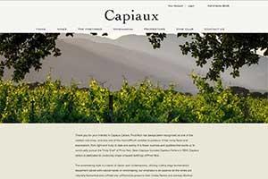 Vin65 Portfolio - Capiaux Cellars