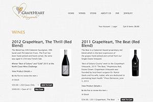 Vin65 Portfolio - Grape Heart Vineyards