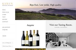Vin65 Portfolio - Kamen Wines