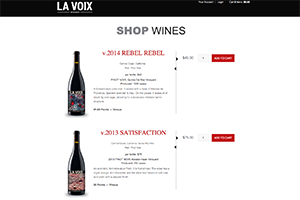 Vin65 Portfolio - La Voix Winery
