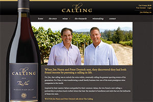 Vin65 Portfolio - The Calling Wine