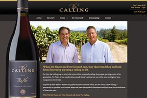 Vin65 Portfolio - The Calling Wine