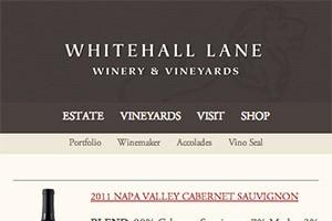 Vin65 Portfolio - Whitehall Lane (Mobile Site)