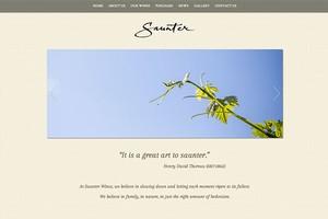 Vin65 Portfolio - Saunter Wines