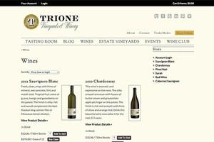 Vin65 Portfolio - Trione Winery