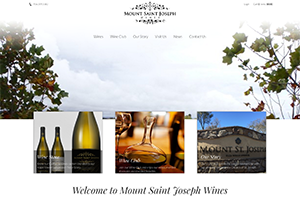 Mount Saint Joseph Wines